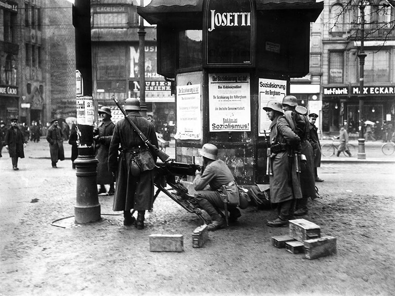 Germany politics, riots in March 1919