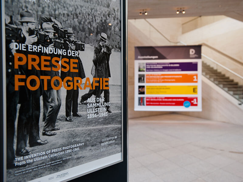 Exhibition Invention of press photography