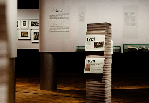 Symbolic photo for Exhibitions: exhibition Invention of press photography at DHM museum