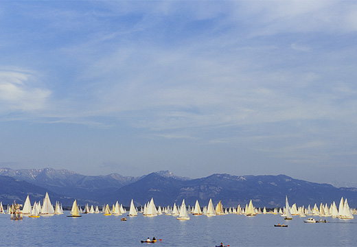 Symbolic photo for Photo Syndication: sailing boats on a lake
